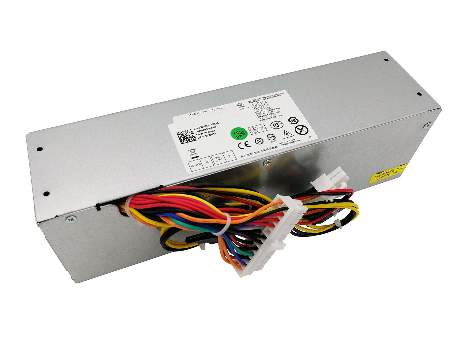 H240AS-00 H240AS-01 3WN11 240W Desktop Power Supply for Dell Optiplex 390  790 960 990 3010 7010 9010 Small Form Factor SFF Systems