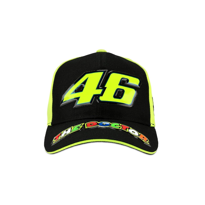 /The Doctor/ VR46 VR 46/Valentino Rossi/ /Bambini Baseball cap Neon Giallo Nero Snapback