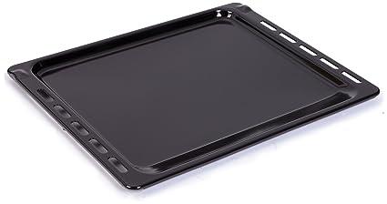 Bauknecht 481010539881 - Bandeja para galletas y repostería, color negro