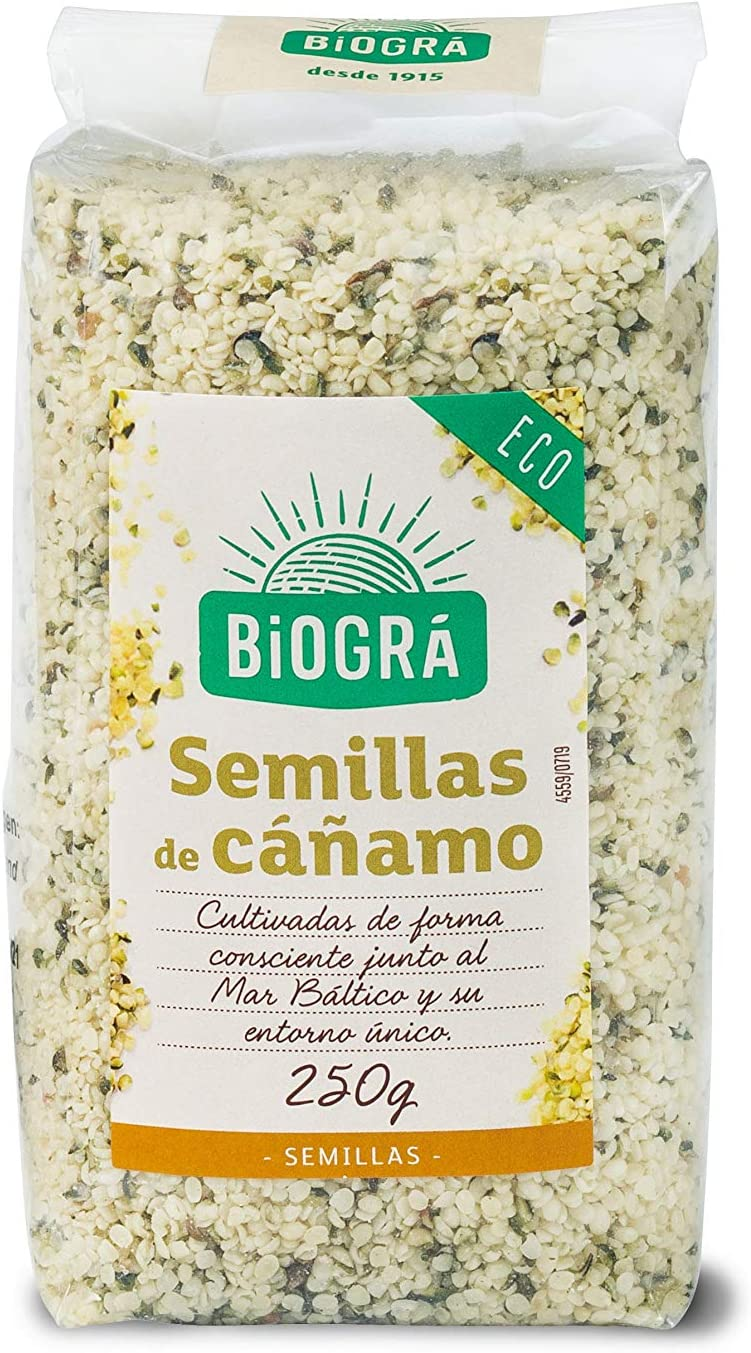 Biográ - Semillas de Cáñamo Peladas (250 g)