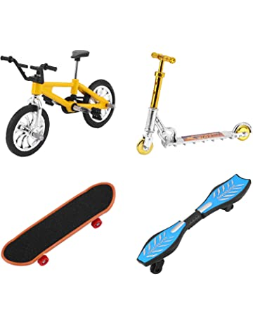 1:18 Vélo Alliage Support Doigt Skateboard Scooter Jouet Set Kid Jouets Jeu Cadeaux