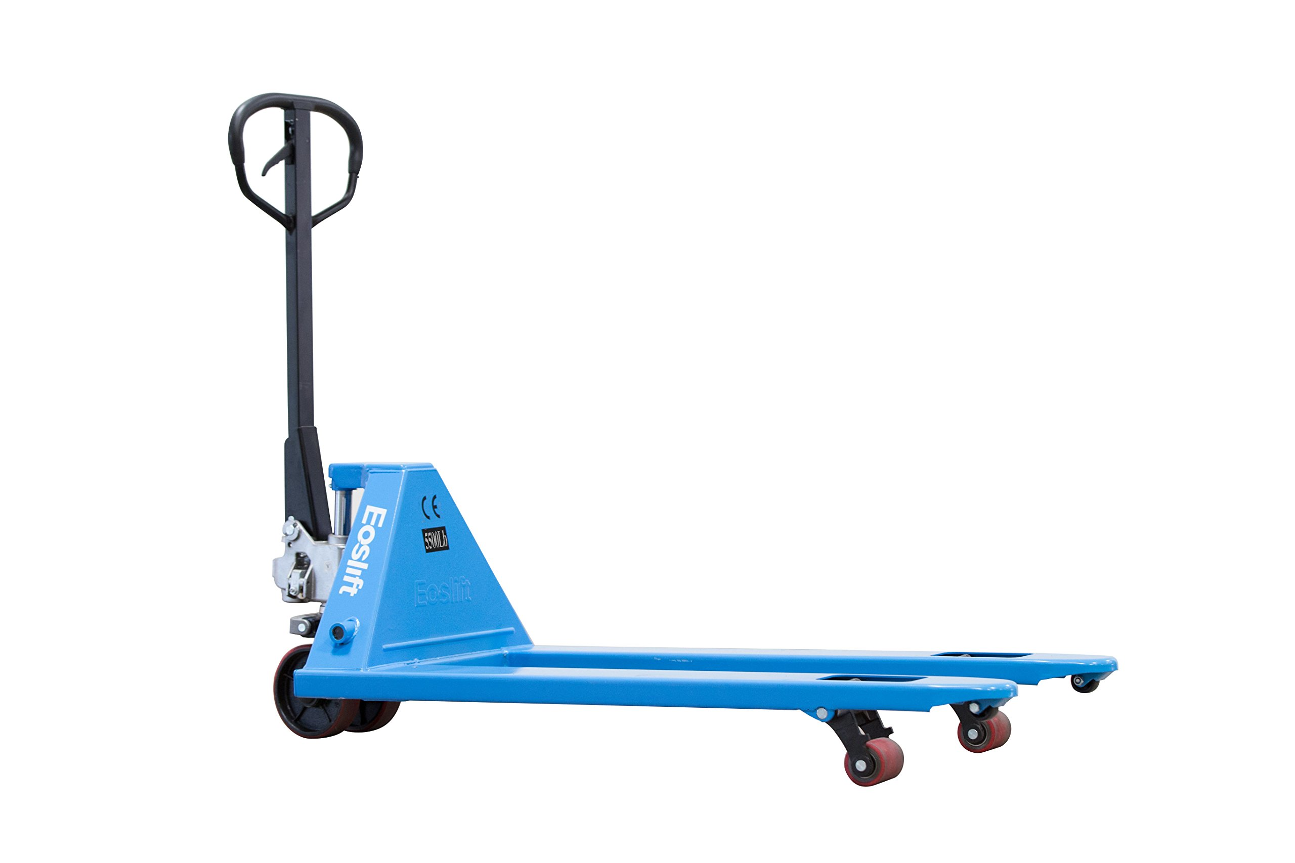 Eoslift M25N Hand Pallet Truck, Blue (Pack of 6) by Eoslift