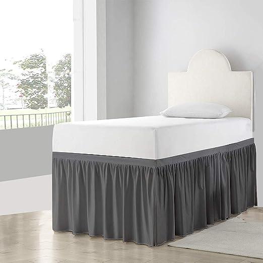 Amazon Com Dorm Room Bed Skirt College Dorm Bed Skirt Long Bed