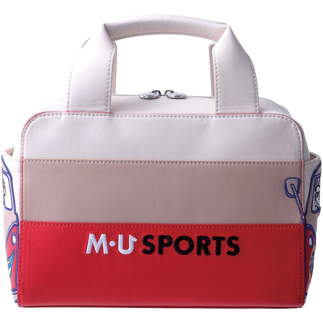 MU Sportsレディースtop-handleポーチバッグ、703 V2004 B07DWGLT7B ベージュ