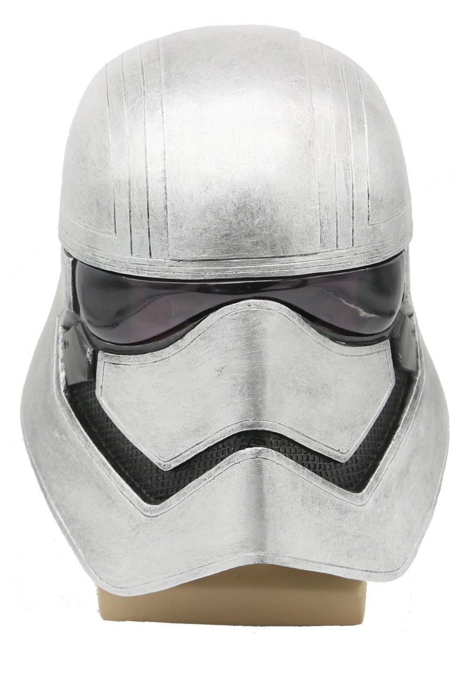 XCOSER Captain Phasma Helmet Mask Props Accessories for Halloween Costume