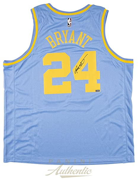 a2b0157a948 Amazon.com  KOBE BRYANT Autographed Minneapolis Lakers Throwback Jersey  PANINI  Sports Collectibles
