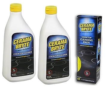 Amazon.com: (Paquete de 2) Cerama Bryte limpiador ...