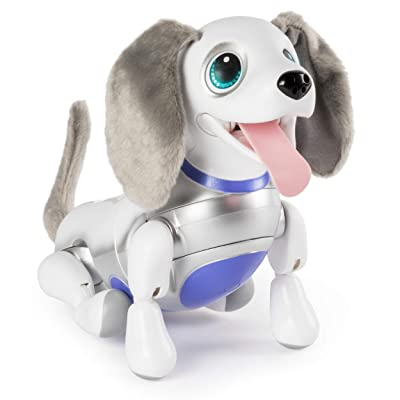 zoomer Playful Pup, Responsive Robotic Dog with Voice Recognition & Realistic Motion, For Ages 5 & Up: Toys & Games