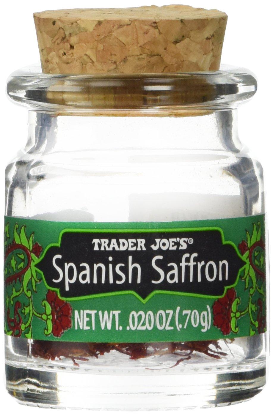 Trader Joe's Spanish Saffron Spice, .02 oz