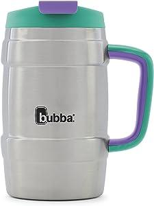 Bubba Keg Vacuum-Insulated Stainless Steel Travel Mug, 34 oz, Rock Candy
