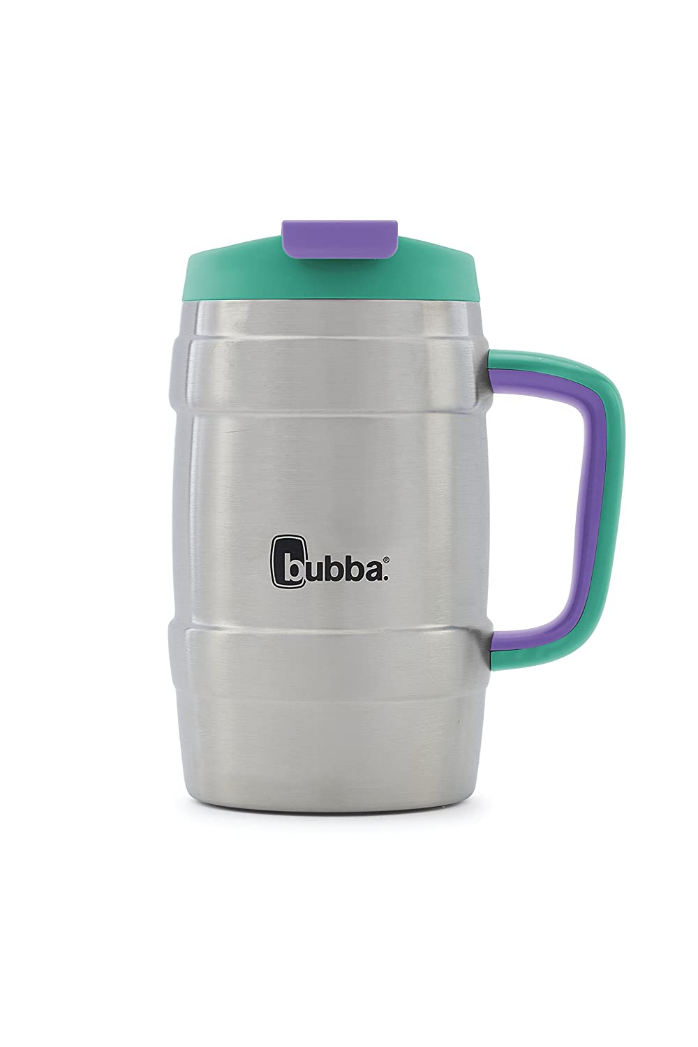 Bubba Keg Vacuum-Insulated Stainless Steel Travel Mug, 34 oz, Rock Candy