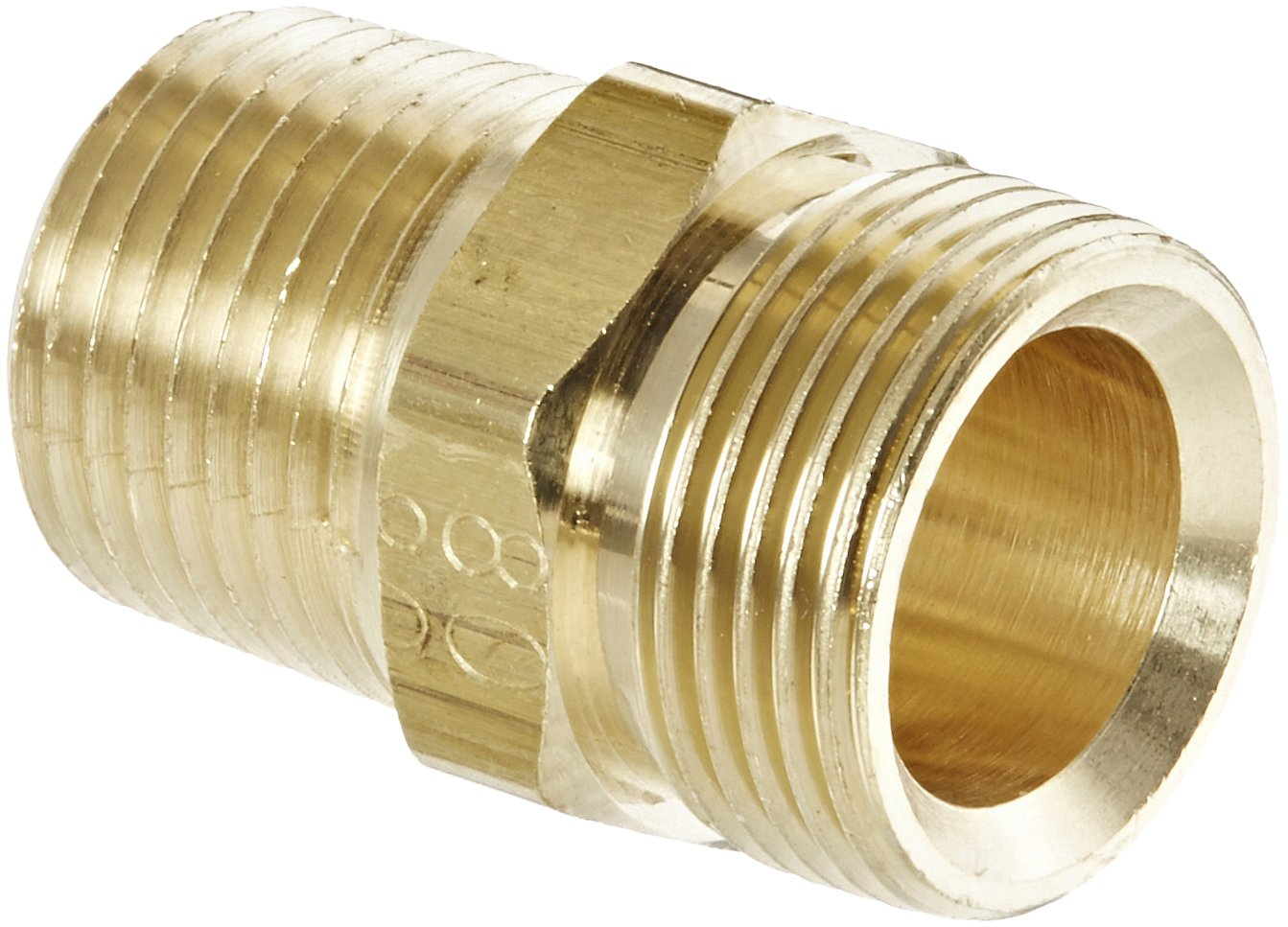1//4 Parker 639PLP-4-pk5 Composite Push-to-Connect Fitting Tube to Plug-in Stem Pack of 5 1//4 Pack of 5