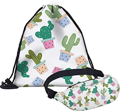 Bolsa de Cintura ViajeInfantil Giddah Riñoneras Y Bolsa de Cuerdas para niños niñas para Deportes al Aire Libre Camping Escalada Vacaciones Festival ...