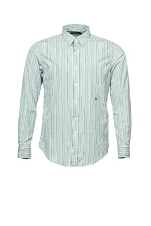 925088eeddf1 Ralph Lauren Polo Light Green Vertical Striped Button Down Shirt Sport