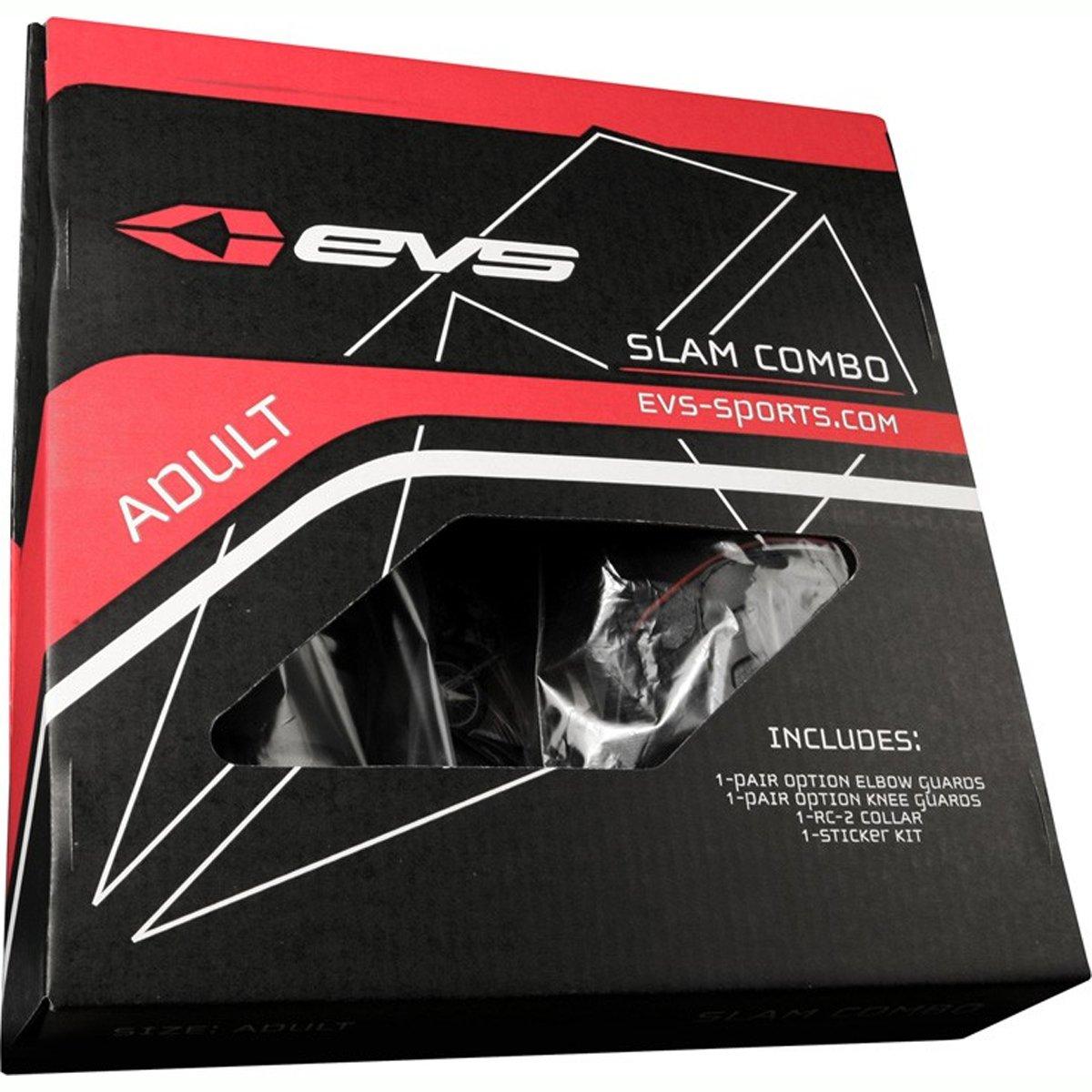 EVS Slam 2 Adult Combo Motocross Motorcycle Body Armor - Black / One Size