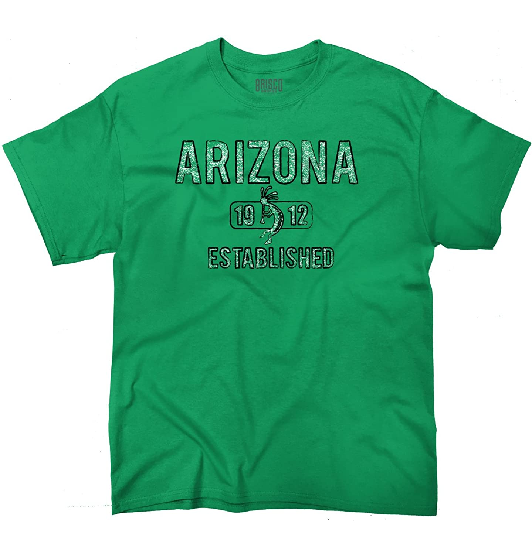 Arizona State Pride T Shirt State Flag USA Kokopelli Gift T-Shirt