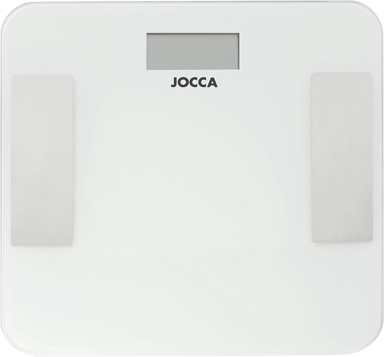 Jocca 7164 -Báscula con Bluetooth, historial de medidas, medidor ...