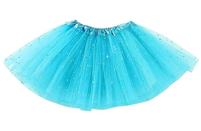 Happy cherry - Falda Tul Niña de Ballet Brillantes con Capas ...