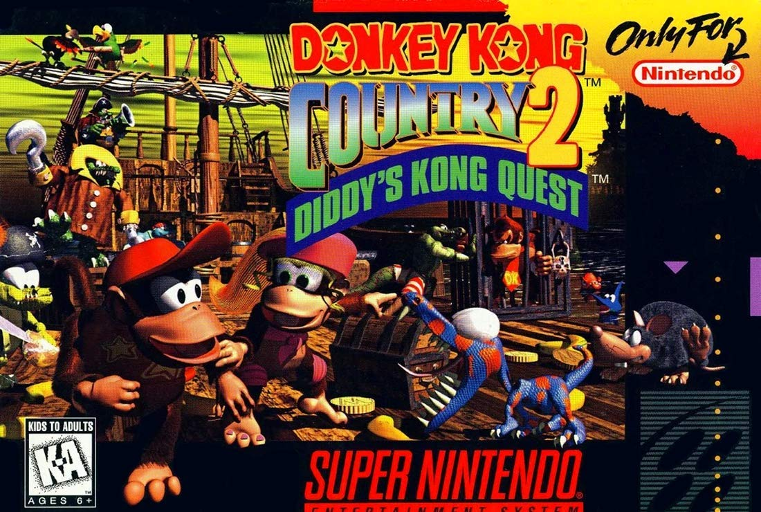 Donkey Kong Country 2: Diddys Kong Quest (Renewed)