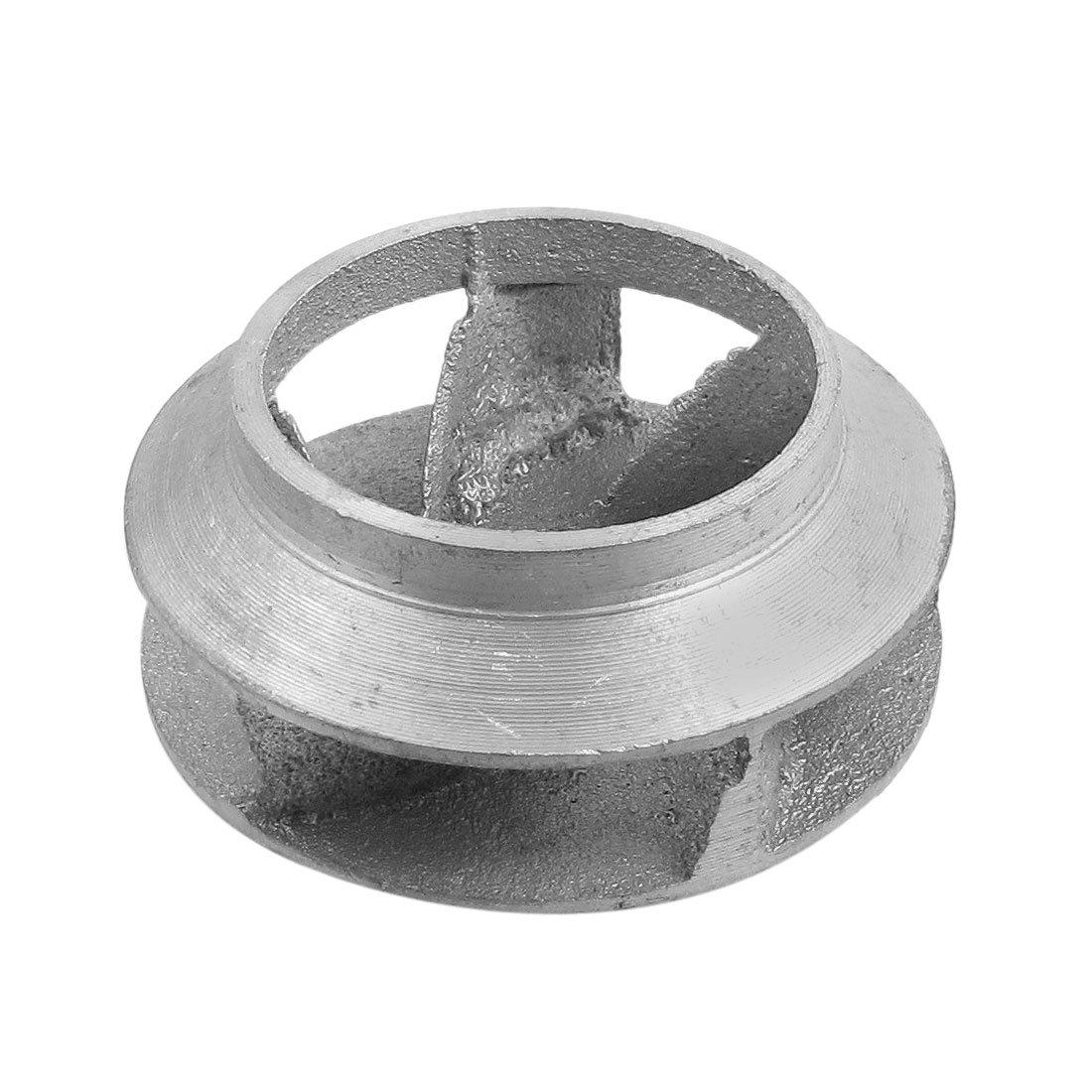 uxcell 2.4'' Hole Diameter Aluminum Precision Pump Impeller Casting Part