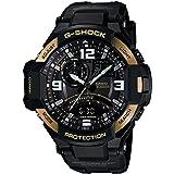 Casio Men's GA1000-9G G-Shock Gravitymaster Black/Gold, Watch