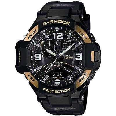 <strong>Casio Men's GA1000-9G G-Shock Gravitymaster Black/Gold Watch</strong>
