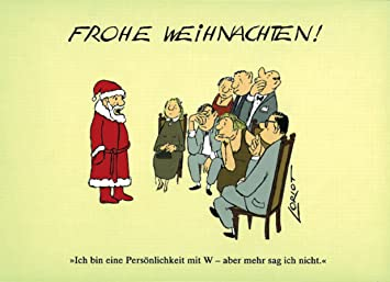 Loriot Weihnachten.Postkarten Weihnachten A6 0618 Personlichkeit W Mann