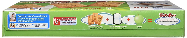 Tosta Rica Fibra Caja De Galletas - Paquete de 9 x 95.56 gr - Total: 860 gr: Amazon.es: Alimentación y bebidas
