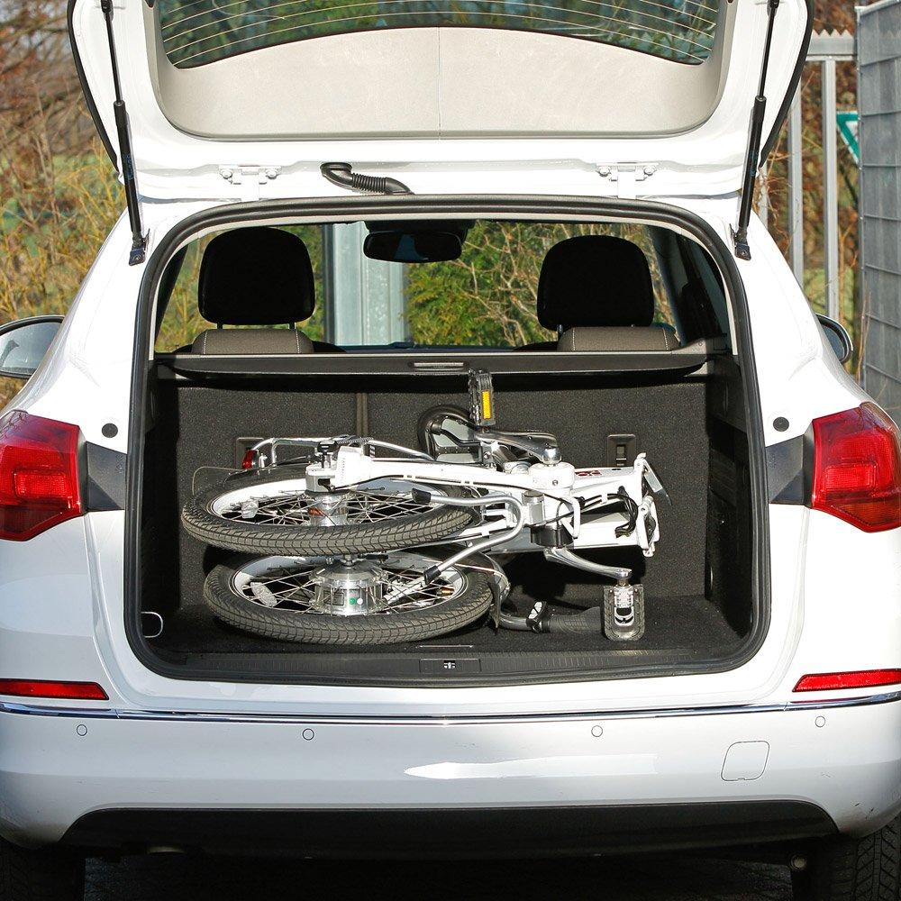 aktivelo Saller kadanie eléctrico de bicicleta plegable de aluminio, 20 pulgadas de 7 velocidades: Amazon.es: Deportes y aire libre