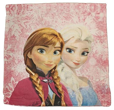 Disney 075 Funda de cojín Frozen Frozen de Almohada 40 x 40 ...