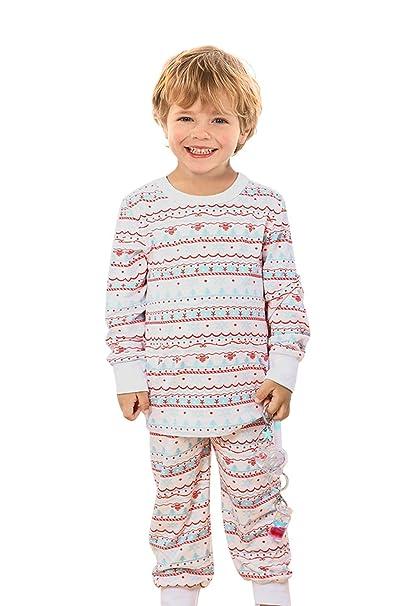 428c2f4bf Amazon.com  Qunisy Boys Girls Pajamas Set Children Sleepwear Kids ...