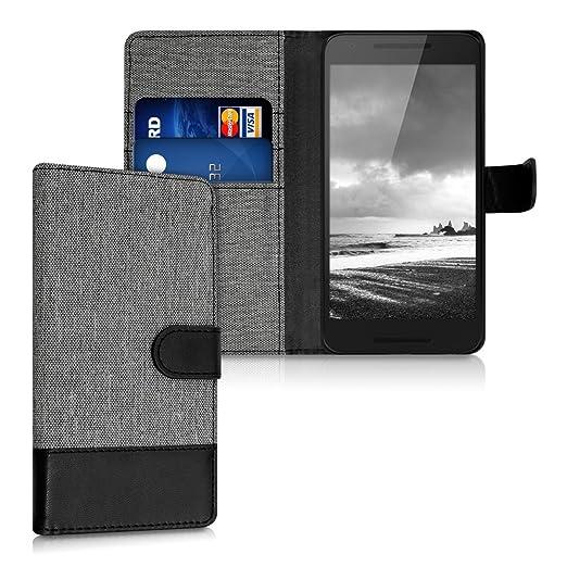 25 opinioni per kwmobile Custodia portafoglio per LG Google Nexus 5X- Cover in simil pelle a