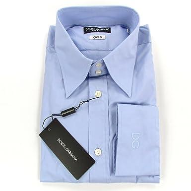 DOLCE   GABBANA D G  quot GOLD Slim Fit Stretch 1O quot  Herren Klassisches  Hemd mit 6c7a99c742