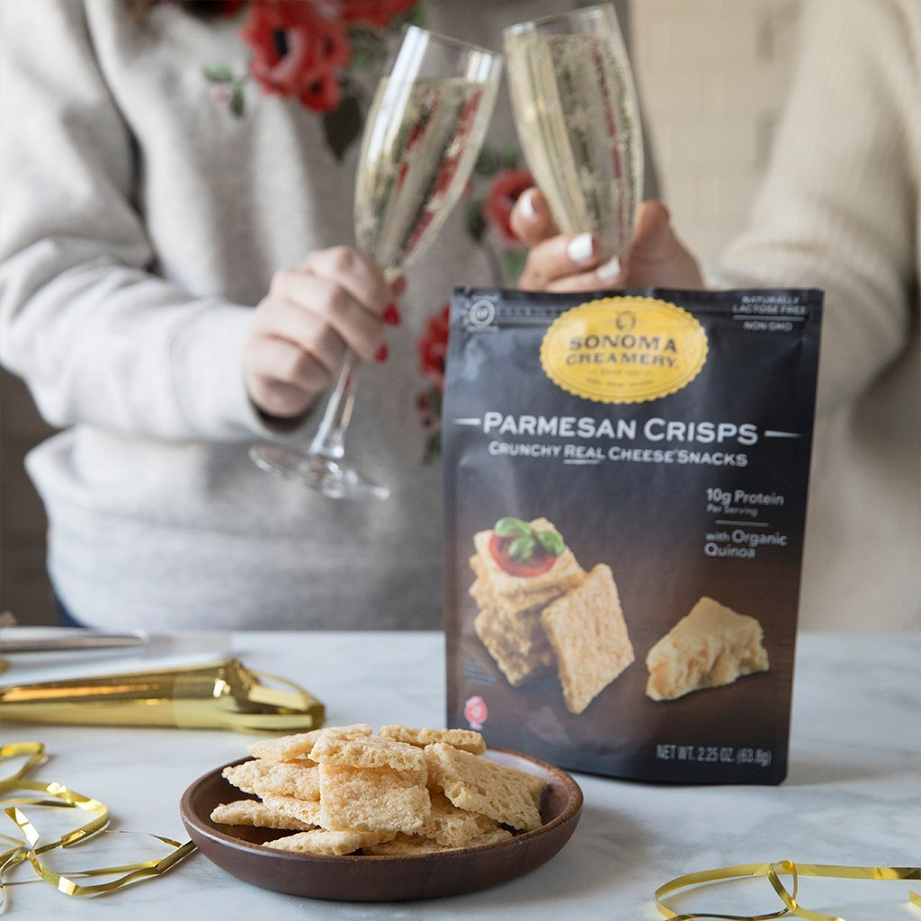 Amazon.com: Sonoma Creamery Cheese Crisps - Parmesan Savory Cheese Cracker Snack High Protein Low Carb Gluten Free Wheat Free (10 Ounce)