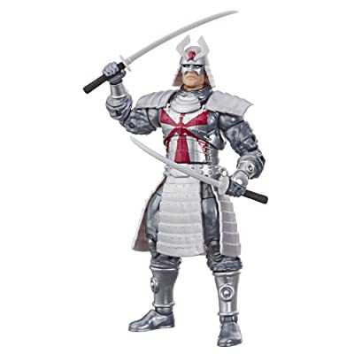 "Marvel Retro 6""-Scale Fan Figure Collection Silver Samurai (X-Men) Action Figure Toy – Super Hero Collectible Series: Toys & Games"
