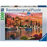 Ravensburger Puzzles Mediterranean Harbor, Multi Color (1500 Pieces)