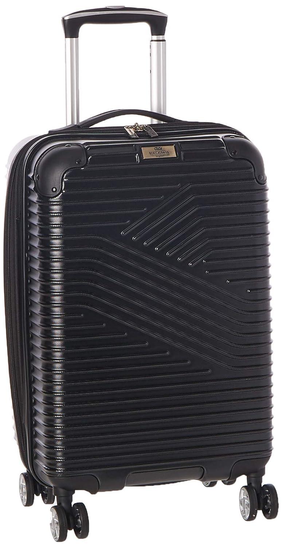 Ben Sherman Bangor 20 Lightweight Hardside PET 8-Wheel Spinner Expandable Carry-On Luggage Suitcase, Black