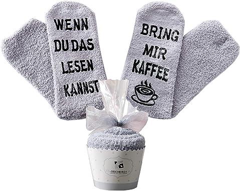 Kaffee-Socken, als lustiges Geschenk zu Ostern