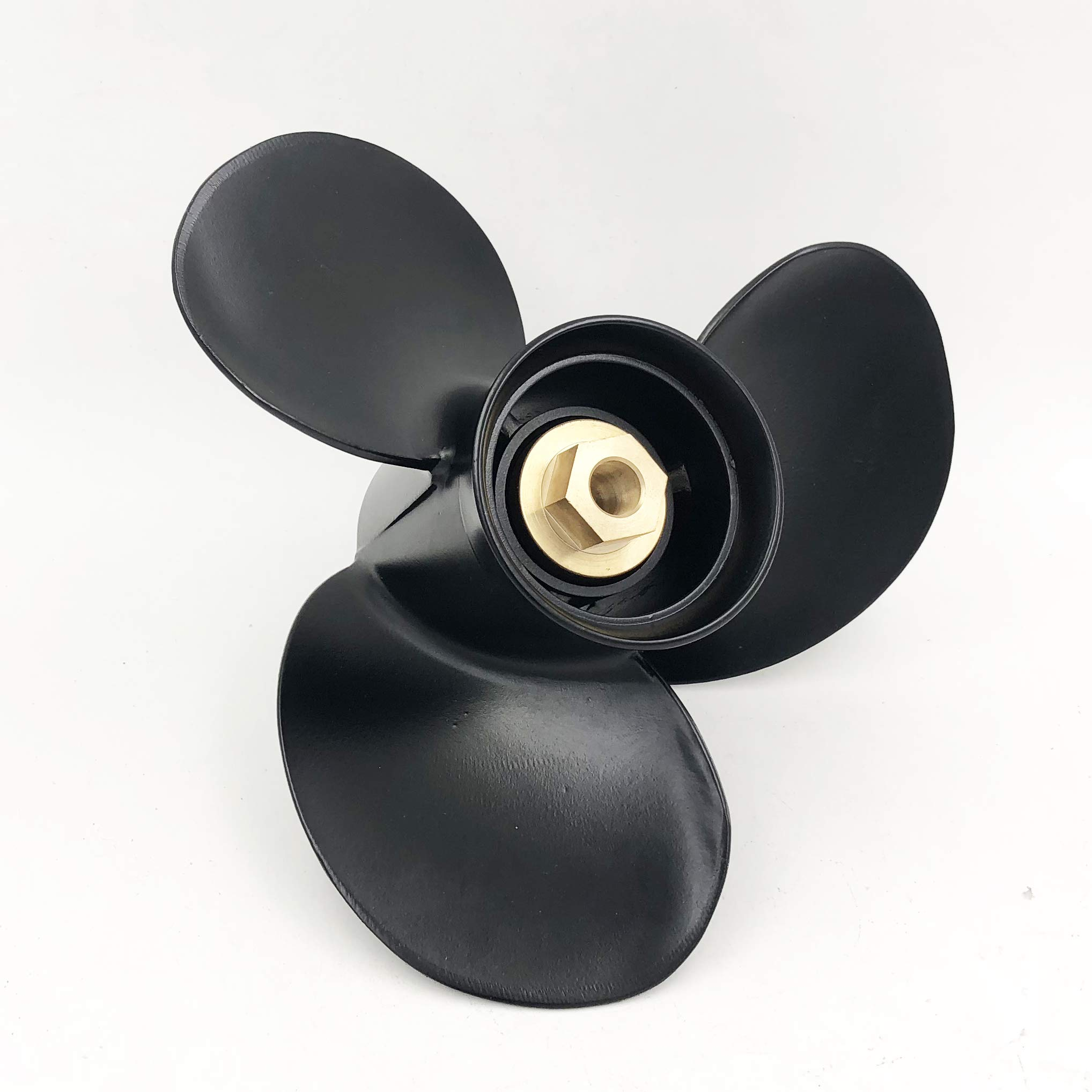 POLASTORM for Mercury 9.9-25HP Aluminum Outboard Propeller 10 3/8 Diax 11 Pitch Engine 48-19638A40 by POLASTORM
