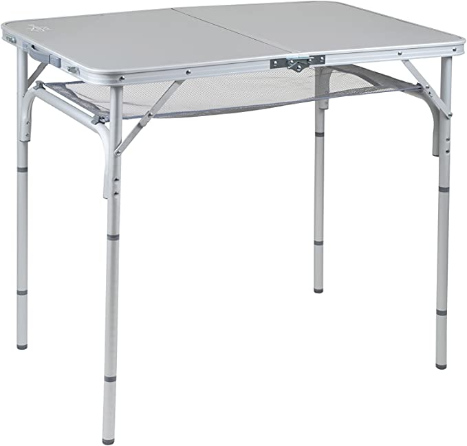 Bo-Camp Mesa de Camping de Aluminio 100 x 60 cm: Amazon.es: Coche ...