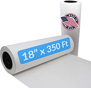Reli. White Butcher Paper Roll   18 Inch x 350 Feet Bulk   Made in USA   Unwaxed, White Butcher Paper for Smoking Meat   Food Grade Kraft Butcher Paper for BBQ, Meat Smoking/Meat Wrapping