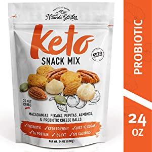 Nature's Garden Keto Snack Mix - 24 oz (Pack of 1)