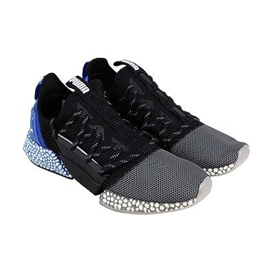 0f69e020955c2 PUMA Men's Hybrid Rocket Runner Shoe, Quiet Shade-Puma Black-Strong Blue,