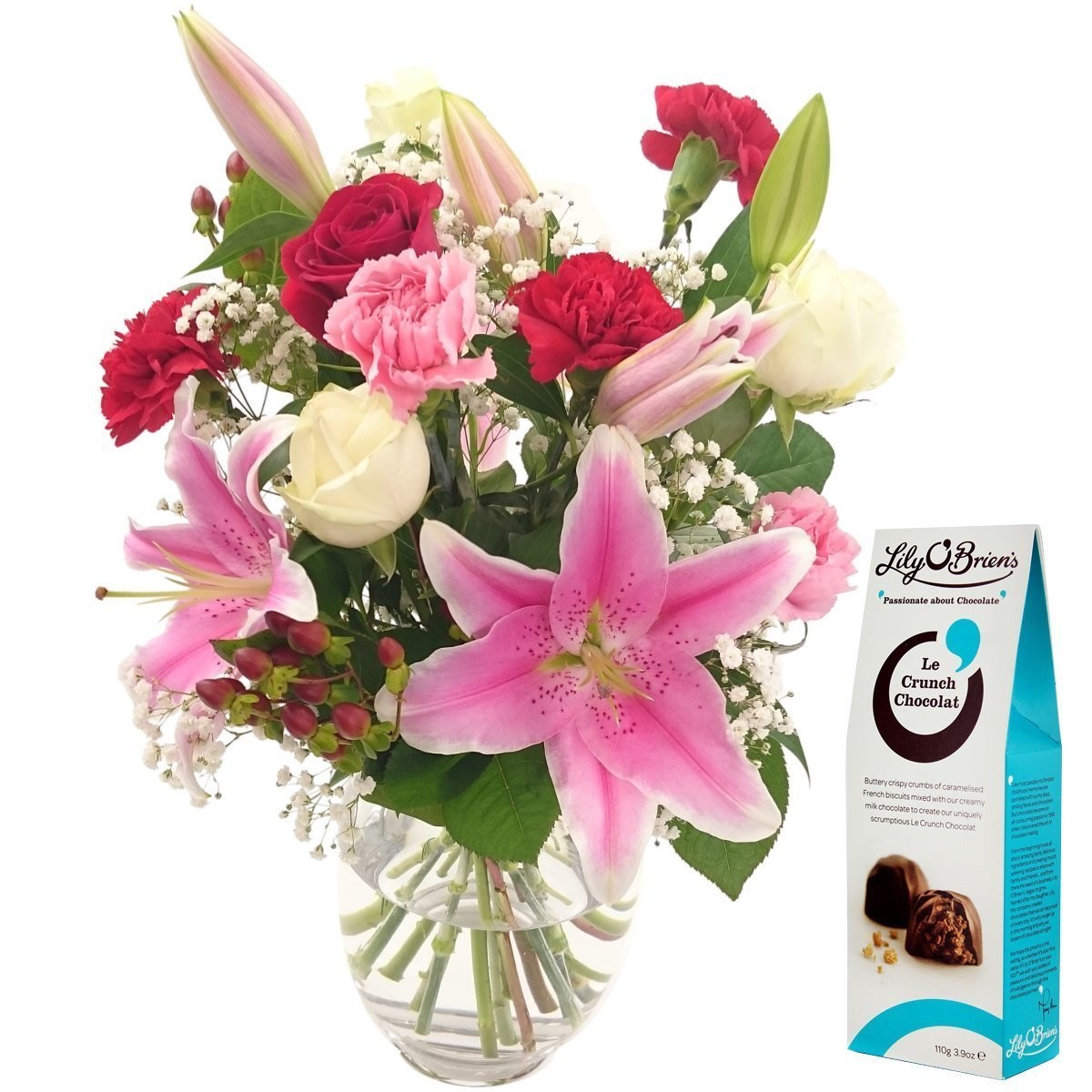 Bouquet of flowers amazon oriental charm bouquet free chocolates and free next day uk delivery beautiful fresh flowers izmirmasajfo