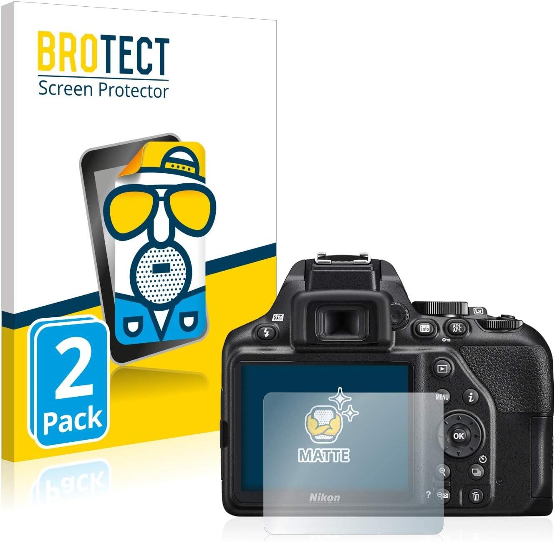 2x protector de pantalla para Nikon D5200 mate antirreflejo Película De Protección