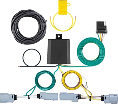 Curt Manufacturing 56399 Custom Vehicle Trailer Wiring Harness for Towing