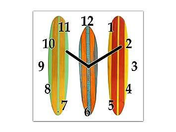 Concept Crystal Moderno Reloj de Pared – Decoración Reloj de Vidrio – Reloj de Pared Grande
