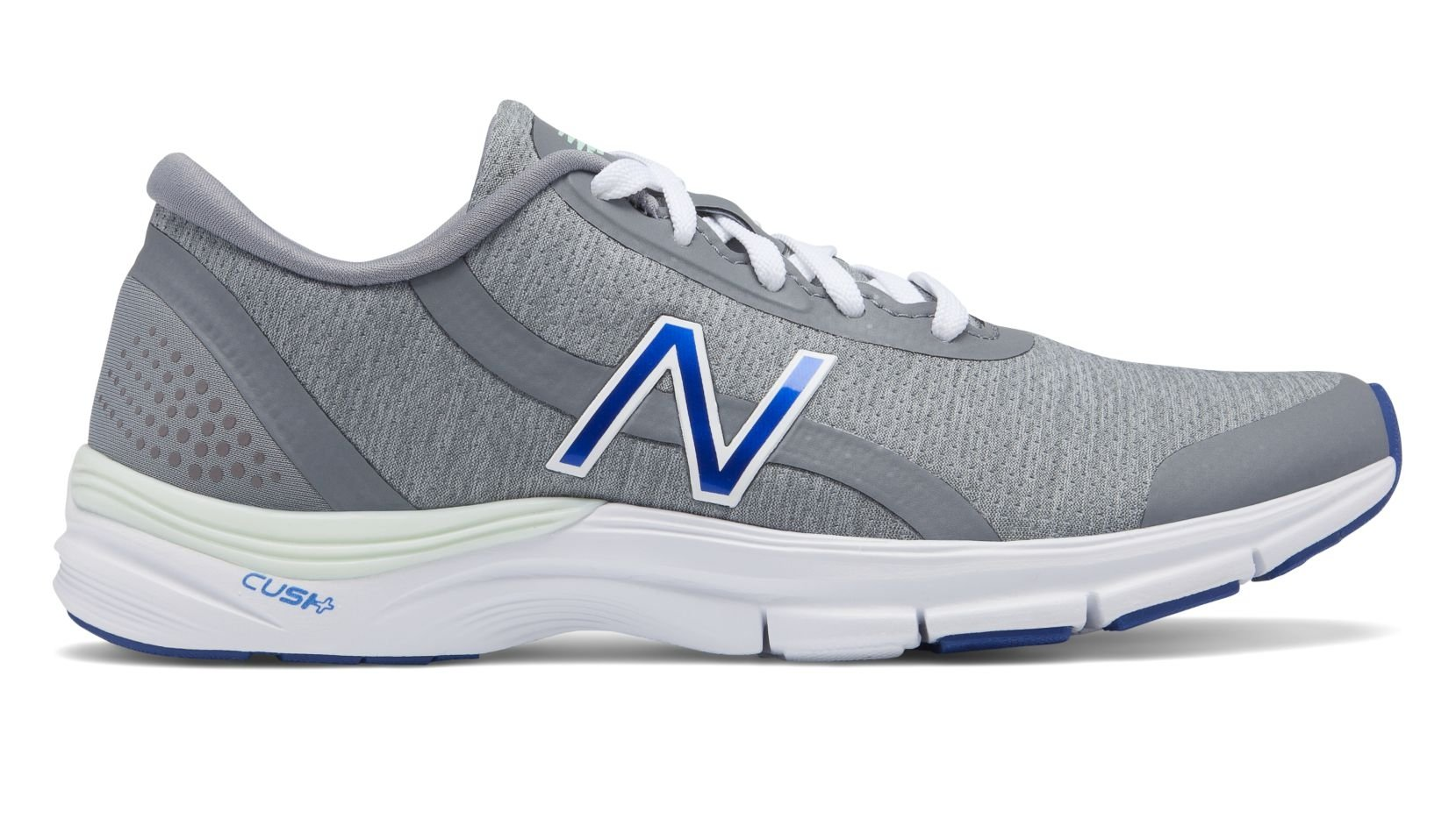 New Balance 711v3 Heathered Trainer Shoe Women's Crosstraining 8.5 Steel-Blue Iris