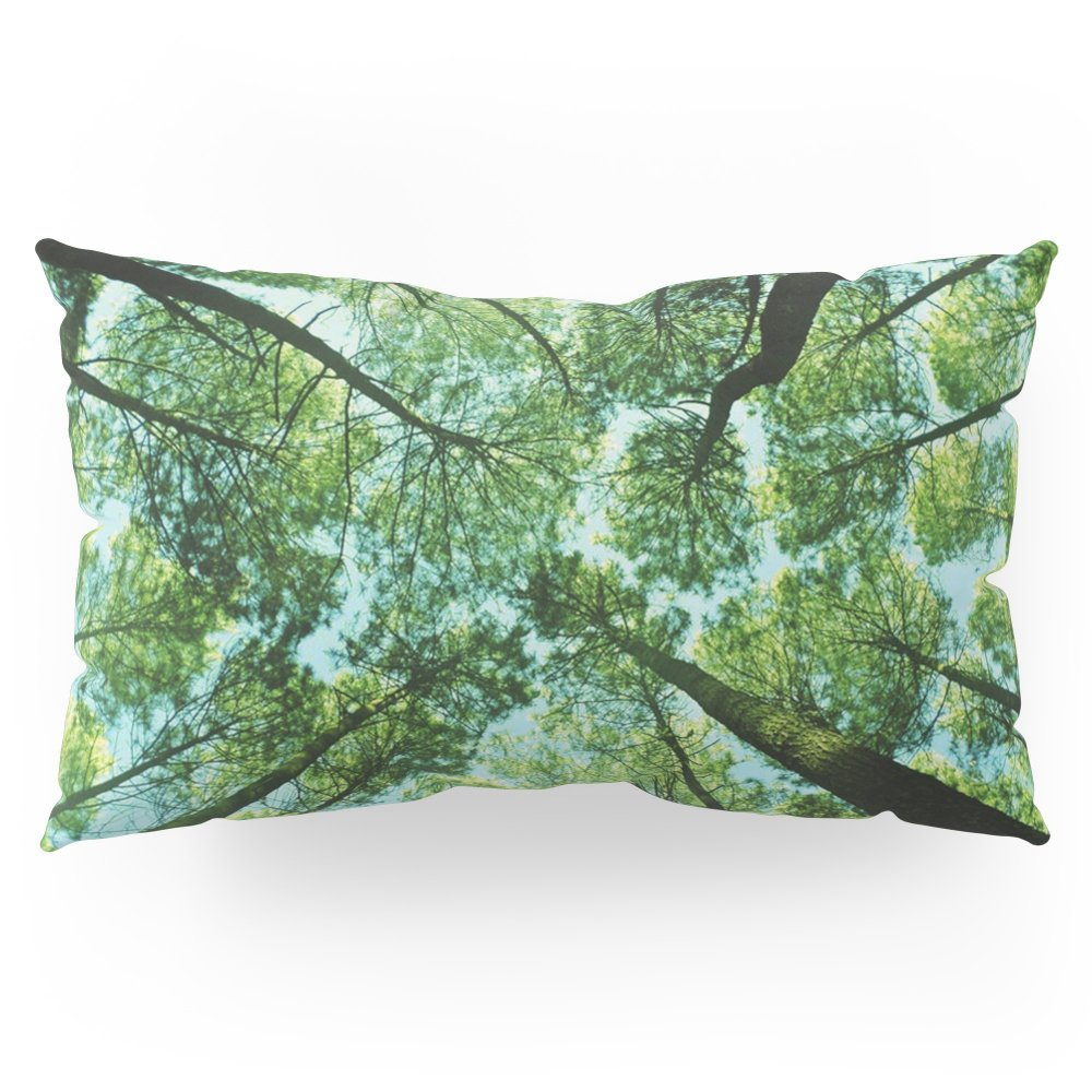 Society6 Looking Up In Woods Pillow Sham King (20'' x 36'') Set of 2