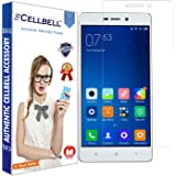 Cellbell Tempered Glass Screen Protector For Xiaomi Redmi 3 / 3S / 4A With Installation Kit